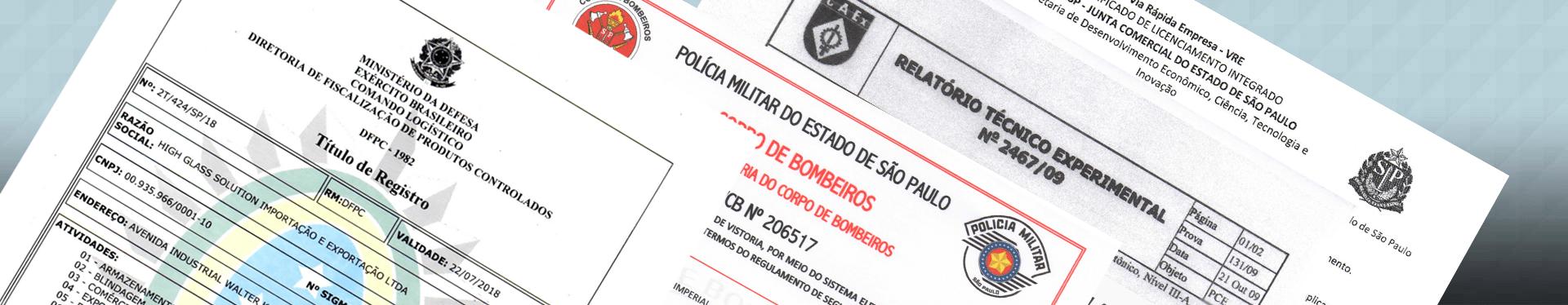 certificados-licencas Certificados